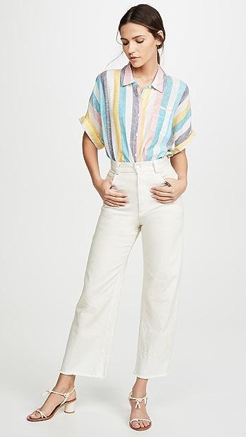 Splendid Рубашка St. Barths на пуговицах в полоску