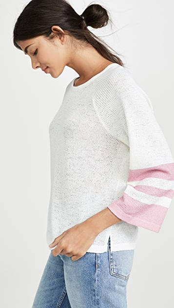 Splendid Painted Stripe Loose Knit