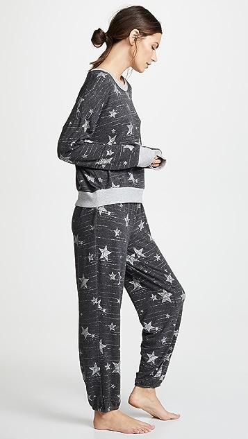 Splendid Long Sleeve PJ Set