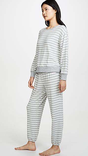 Splendid 长袖睡衣套装