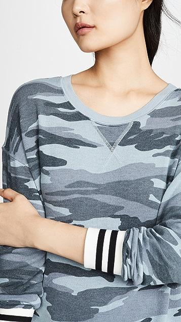 Splendid Очень мягкий пуловер с камуфляжным принтом