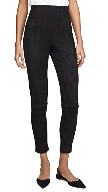 Splendid Faux Sueded Highline Leggings