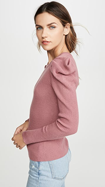 Splendid Пуловер Allston с объемными рукавами