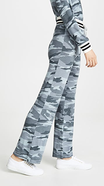 Splendid 超柔软迷彩运动裤