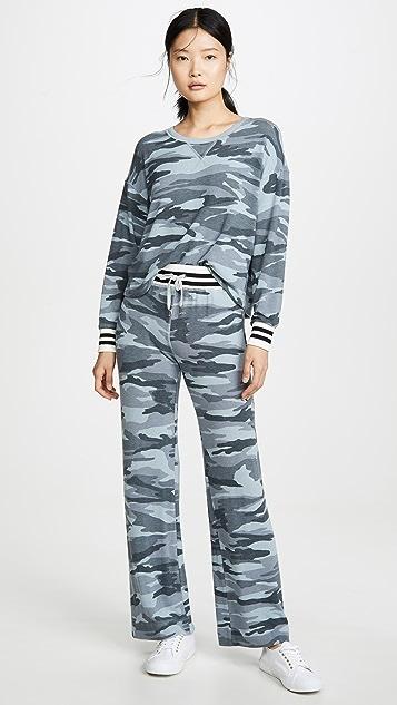 Splendid Очень мягкие спортивные брюки с камуфляжным принтом