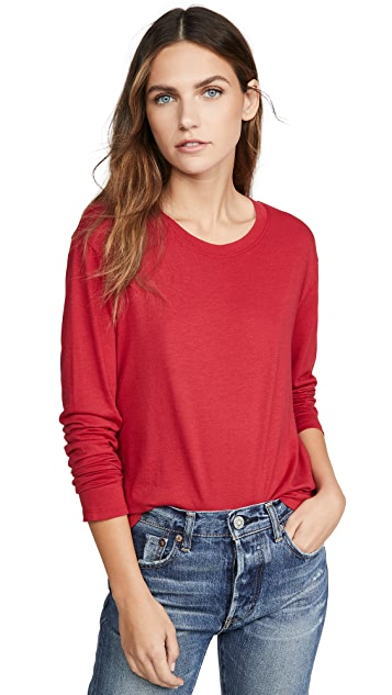 Splendid Cody Crop Tee