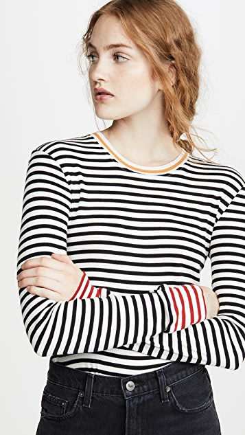 Splendid Wyatt Stripe Tee