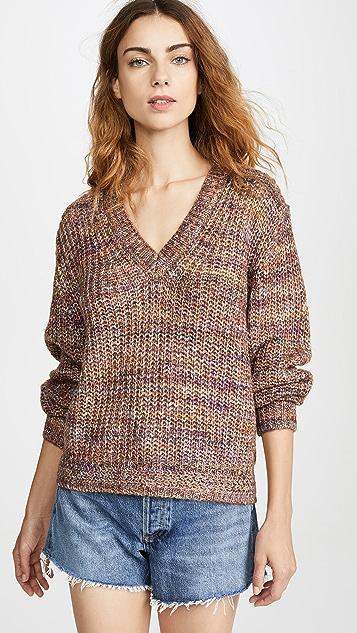 Splendid Marled Pullover