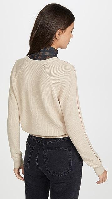 Splendid 时尚缝线套头衫