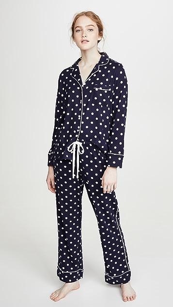 Splendid Notch Collar PJ Set