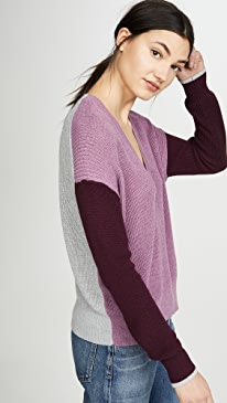 Gemma Colorblock Pullover Sweater