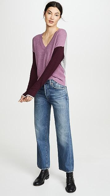 Splendid Пуловер с цветными блоками Gemma