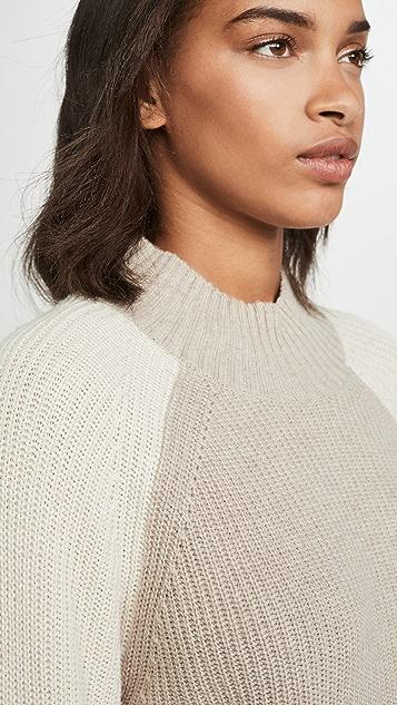 Splendid Alta Colorblock Pullover