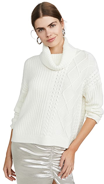 Splendid Lakewood Cable Pullover