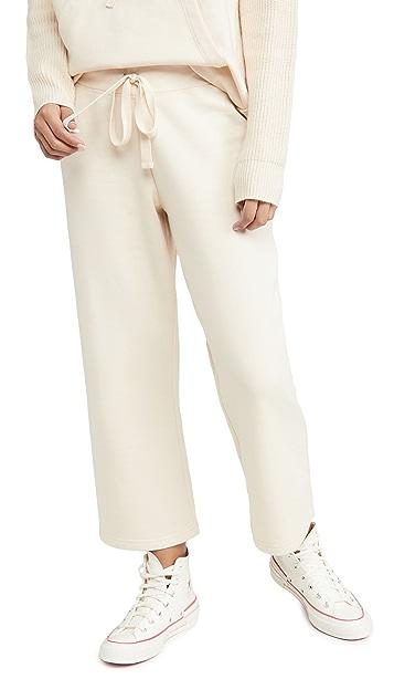Splendid 针织毛圈布裤子