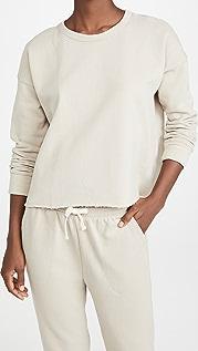 Splendid EcoKnit Recycled Fleece Sweatshirt