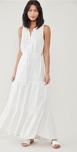Splendid - Fresco Stripe Maxi Dress