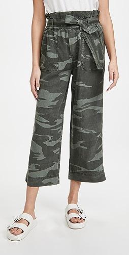 Splendid - Camo Ryland 纸包长裤