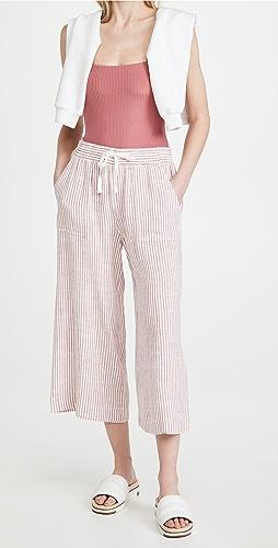 Splendid - Pueblo Stripe Cropped Pants