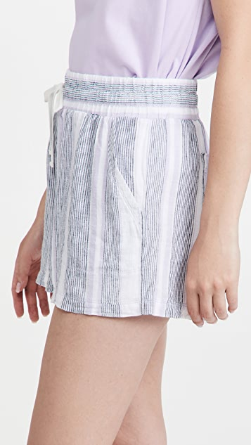 Splendid Baja 条纹短裤