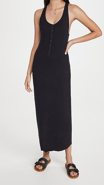 Splendid Raven Henley Dress