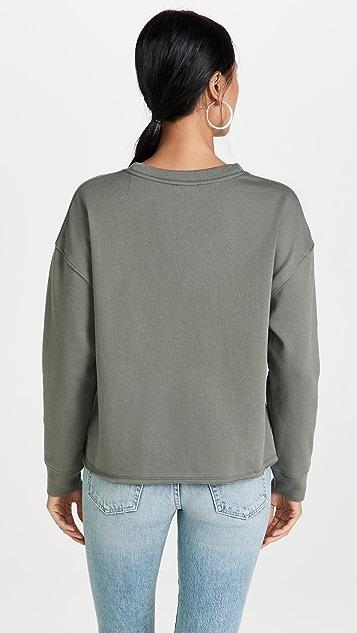 Splendid Eco Fleece Crew Sweatshirt