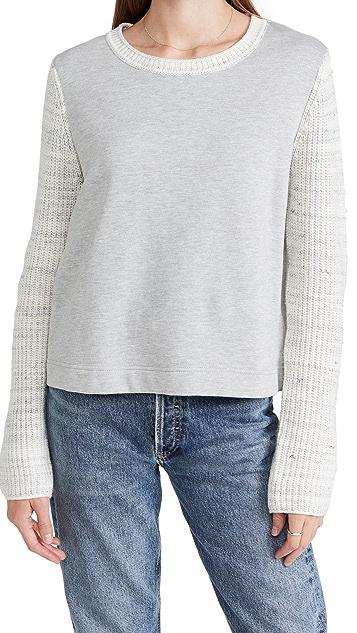 Splendid Andi Sweater Mix Pullover