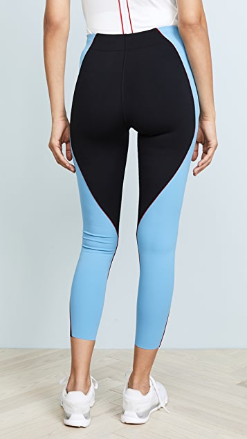 Splits59 Wave 7/8 High-Waist Tight Leggings