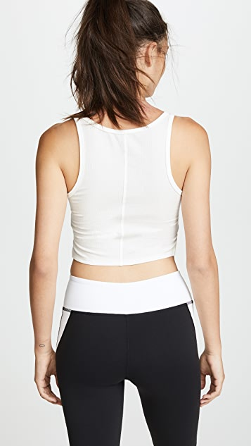 Splits59 Tag Cropped Tank
