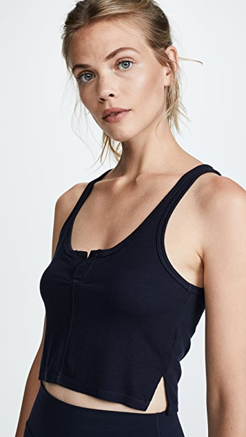 Splits59 Tag Cropped Tank Top