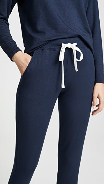 Splits59 Reena Sweatpants Indigo/off White