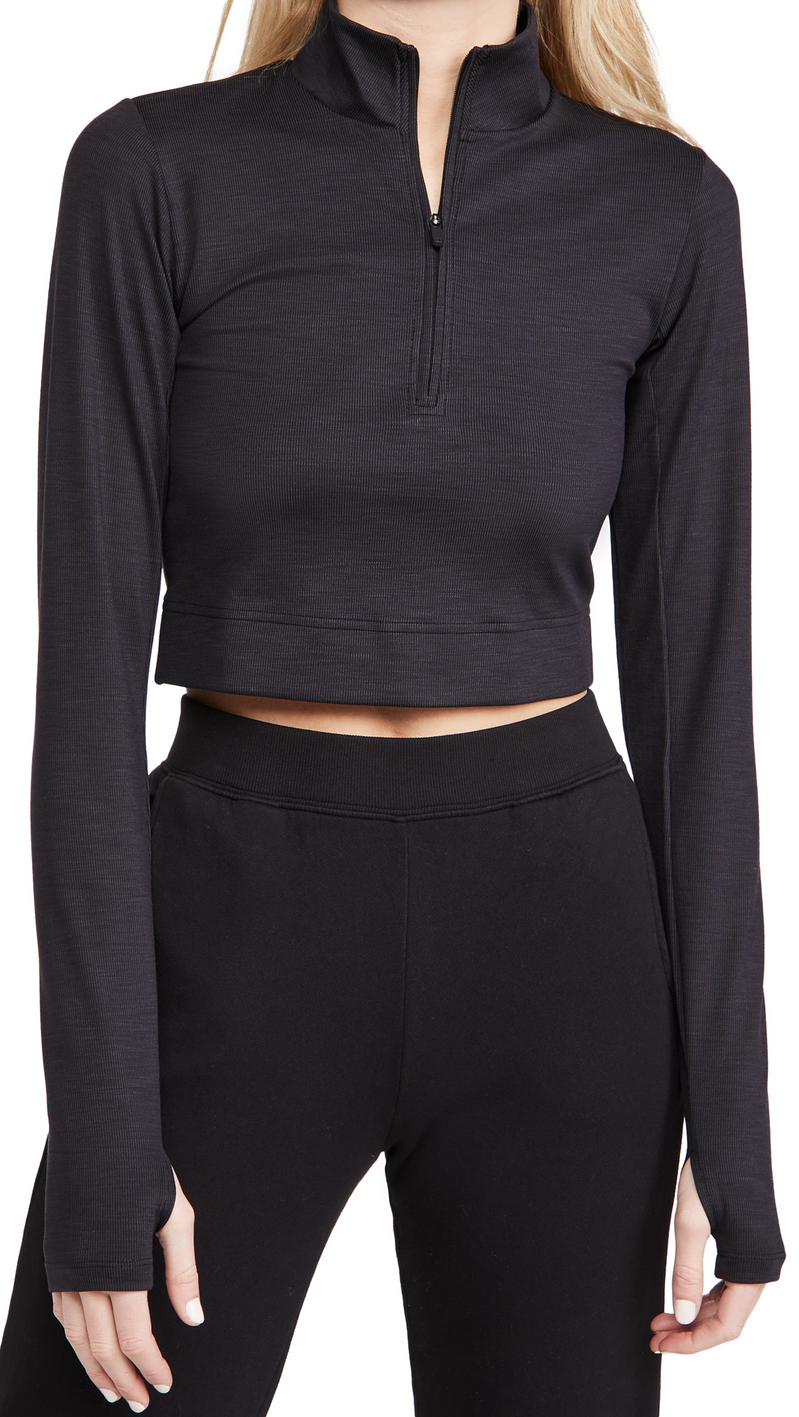 Splits59 Stevie Active Rib Half Zip Pullover