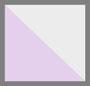 Off White/Lavender Dip Dye