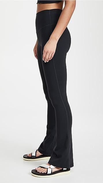 Splits59 Raquel 高腰喇叭贴腿裤