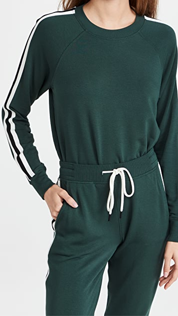Splits59 Cropped Warmup Fleece Sweatshirt