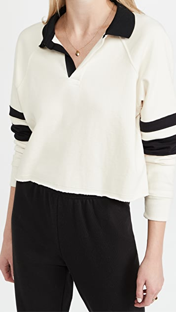 Splits59 Tiger French Terry Rugby Sweatshirt