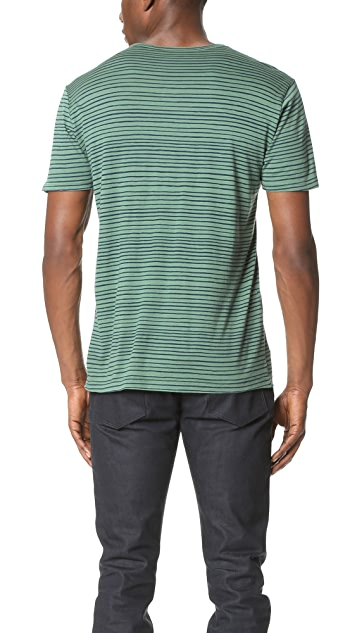Splendid Mills Wave Stripe Tee