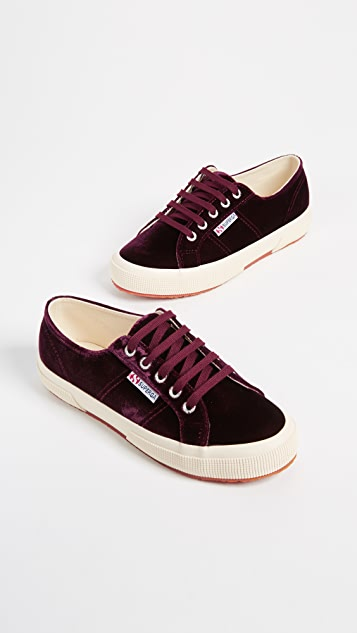 Superga 2750 Velvet Sneakers