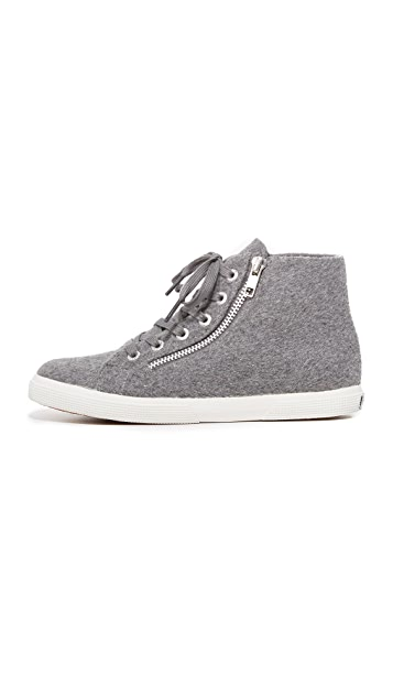 Superga 2224 Wool High Top Sneakers