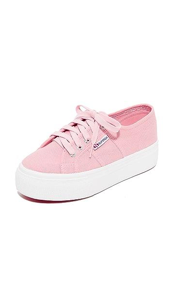 Superga 2790 Platform Sneakers - Vintage Light Pink