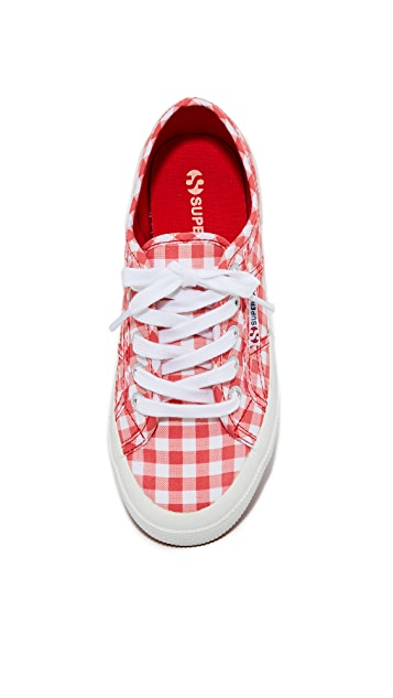 Superga 2750 Gingham Classic Sneakers
