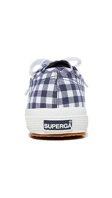 Superga Классические кроссовки 2750 в клетку гингем