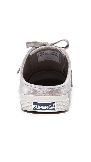 Superga 2288 Velvet Mule Sneakers
