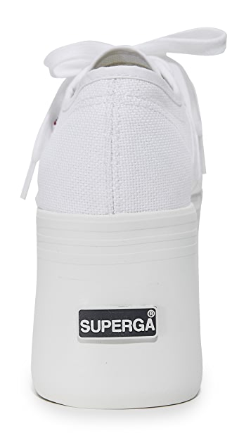 Superga 2802 Canvas Super Platform Sneakers