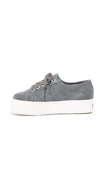 Superga 2790 Suede Platform Sneakers