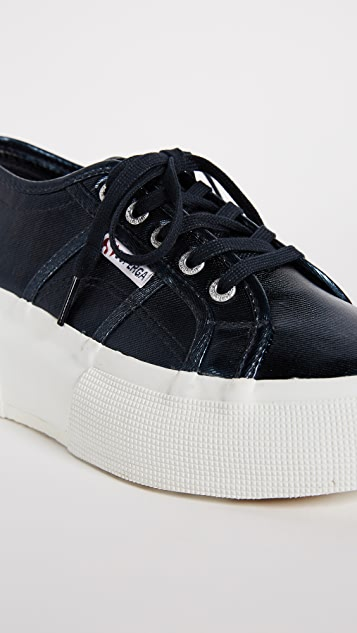Superga 2287 Metallic Platform Sneakers