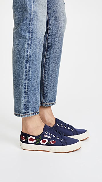 Superga 2750 Satin Floral Sneakers