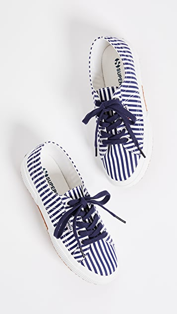 Superga 2750 Fabric Stripe Sneakers