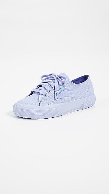 Superga 2750 Cotton Melangu Sneakers - Blue