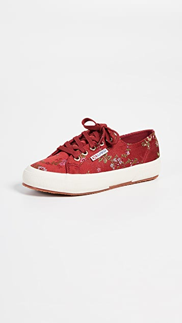2750 Floral Sneakers by Superga